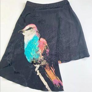 Anthropologie Leifsdottir Cordiva Silk Skirt 6
